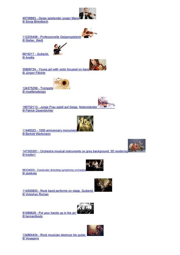 Musikinstrumentenversicherung Sinfonima Bilder mit Rechten von Fotolia