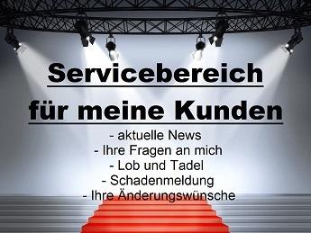 Servicebereich Instrumentenversicherung